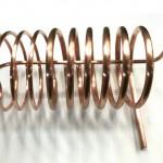 銅パイプ Φ12・Φ19を途中で溶接