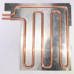 Copper pipe Φ10 x t1 process to match gauge