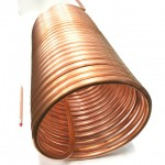 Copper pipe Φ16×t1 Φ380